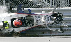 Los accidentes de Robert Kubica