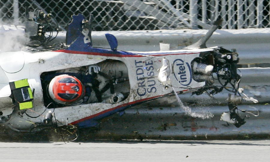 Los accidentes de Robert Kubica