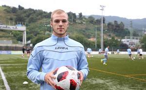 Sergio Benito: «No me equivoqué al venir a Barakaldo»