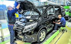 Mercedes recupera dos días de producción por un pedido nuevo de 1.000 vehículos