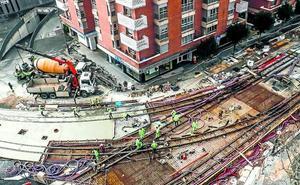 Comerón apoyará hoy blindar el tranvía a Salburua y Zabalgana con 23 millones