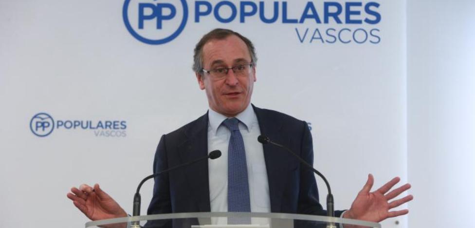 «Esta inestabilidad es un fracaso también del PNV», critica Alonso