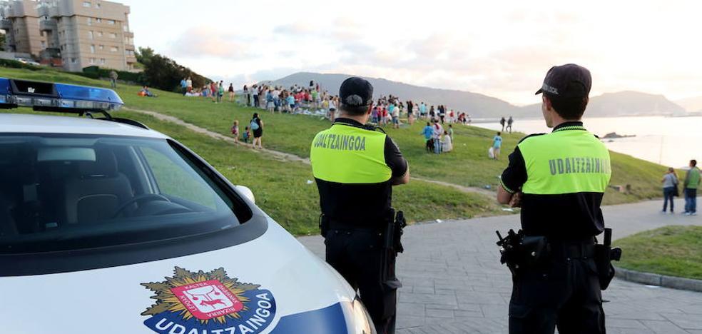Proponen sancionar a Getxo por un cartel con las multas puestas por cada policía local