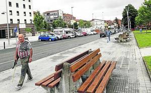 Eliminan barreras arquitectónicas del barrio de Basozelai