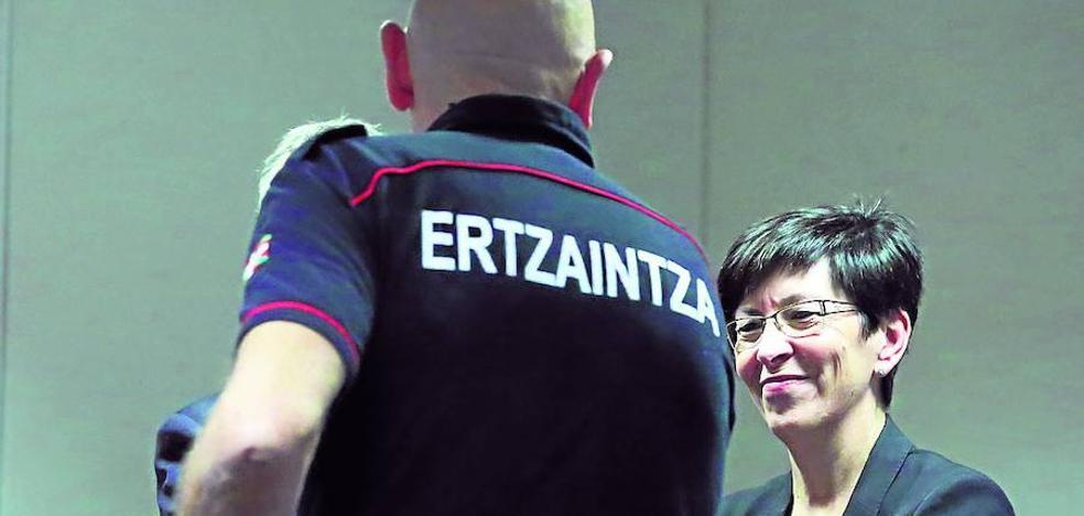 Los jueces tumban el plus para la jefatura de la Ertzaintza