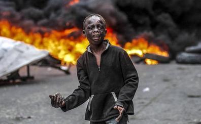 Las violentas protestas en Haití dejan al menos una decena de muertos