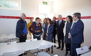 Inauguran los nuevos vestuarios con sala de estudio del campo de Artxanda