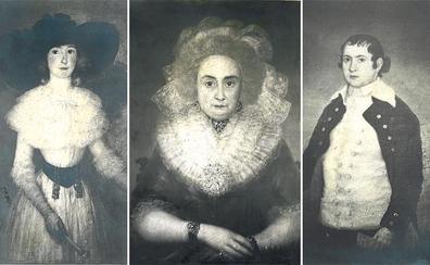 Bizkaia recupera tres 'goyas' desaparecidos tras la Guerra Civil