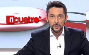 Así despidió Javier Ruiz la última emisión de Noticias Cuatro