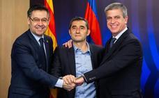 Valverde seguirá una temporada más en el Barça