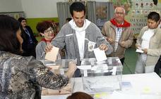 Votar en San Prudencio, cosa de niños y borrachos