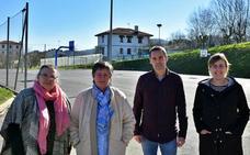 Educación instalará en 2020 una cubierta en el patio de la escuela de Sondika