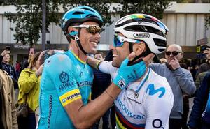 Valverde aplaude el triunfo de Luis León