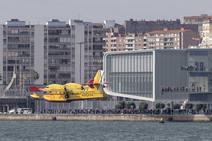 Hidroaviones en la bahía de Santander