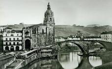 El catastrófico derribo del puente viejo de San Antón