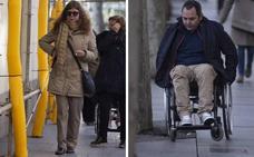 Mirar con los ojos de un ciego, caminar con las ruedas de una silla