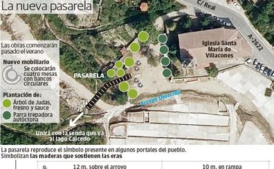 Una pasarela resolverá la conexión del Valle Salado con la ruta del lago Caicedo