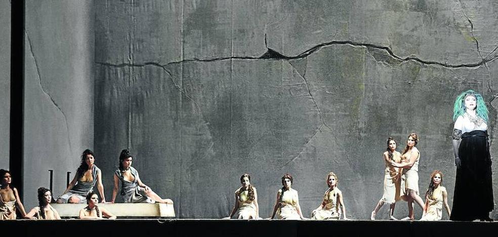Un Rossini 'al dente' hace disfrutar en el Euskalduna