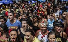 Explosión de alegría para dar la bienvenida al Carnaval de Río