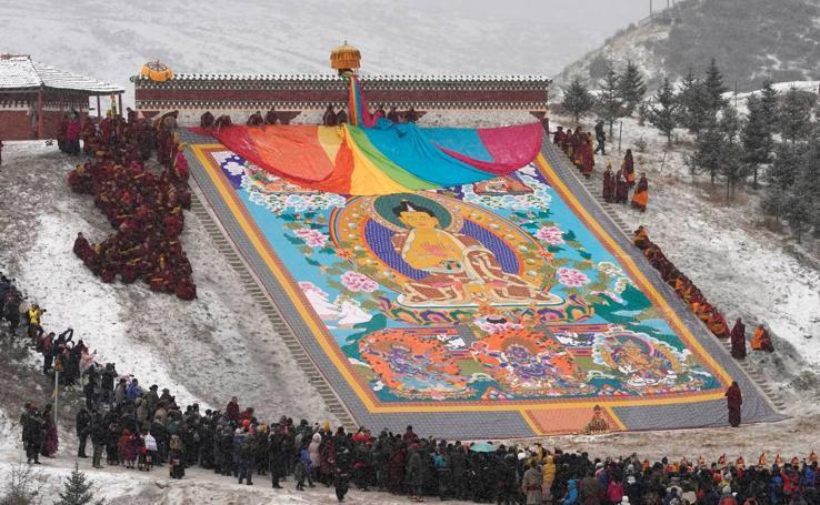 El sol de Buda
