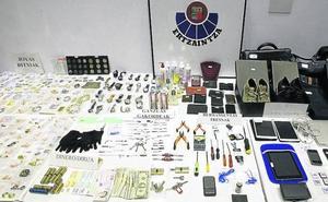 La Ertzaintza atribuye a ocho bandas el aumento a máximos históricos de los robos en pisos