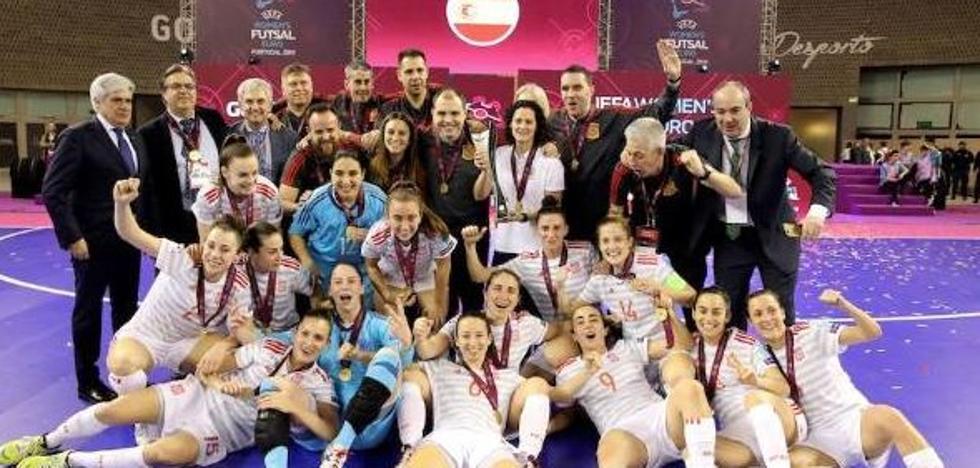 El fútbol sala confirma la pujanza del deporte femenino español