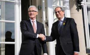 Interior impide a los Mossos escoltar a Torra en Bruselas