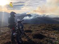 El fuego abrasa Cantabria