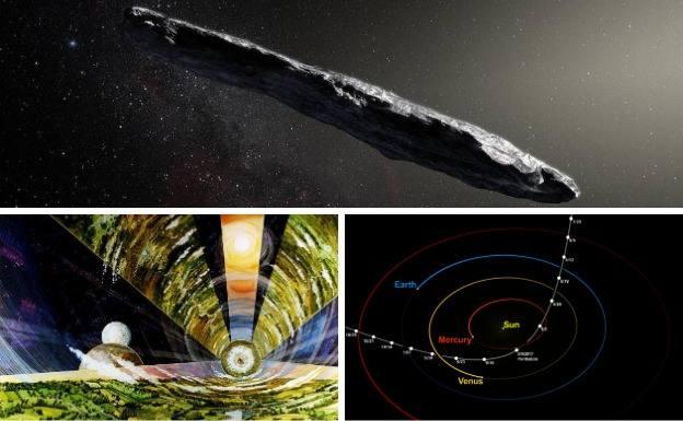 'Oumuamua, ¿un mensajero de los extraterrestres?
