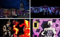 Las 20 proyecciones del Umbra Light Festival que iluminarán Vitoria