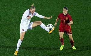 Lucía García convocada con la selección española para jugar la Copa Algarve
