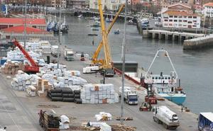 La reparación del puerto comercial de Bermeo se prolongará hasta septiembre