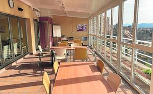 La residencia de Basauri estrena una terraza cubierta
