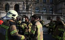 Los Bomberos de Bilbao, en pie de guerra