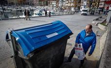 Bermeo mejora sus hábitos de reciclaje y recupera el 26% de los residuos urbanos