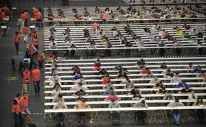 4.350 aspirantes a las 500 plazas de la OPE de la Ertzaintza, que arranca este sábado