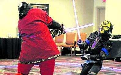 Francia incorpora el combate con espadas láser en las competiciones oficiales