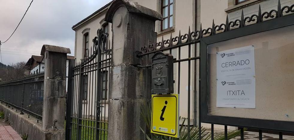 Acuerdo institucional para financiar la reapertura del Museo de Artziniega