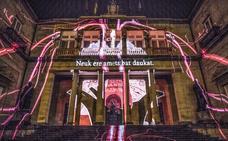 El Umbra Light Festival ilumina lugares emblemáticos de Vitoria