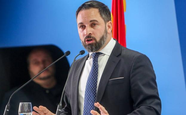 Santiago Abascal./Europa Press