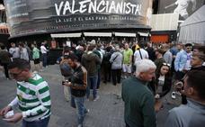 Seis aficionados del Celtic detenidos en Valencia tras agredir a policías