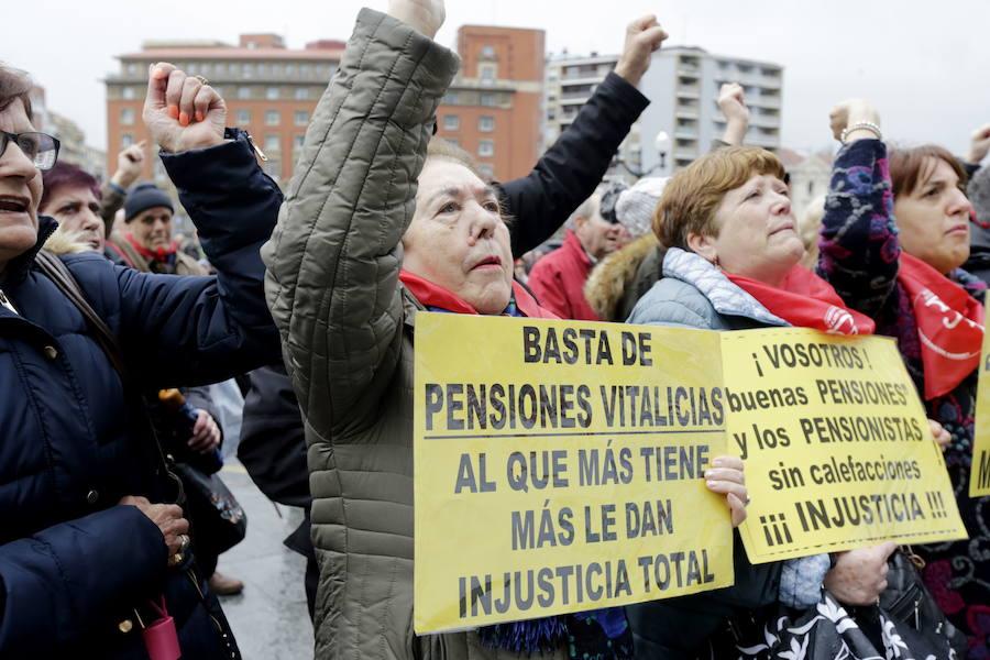 Los pensionistas vascos convocan manifestaciones en abril y mayo