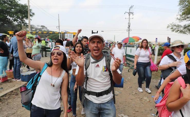 Las imágenes del concierto de Venezuela