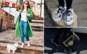 Las zapatillas pisan fuerte en Bizkaia: tres formas de llevarlas
