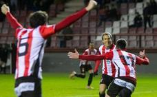 Al Bilbao Athletic se le va un punto sobre la bocina