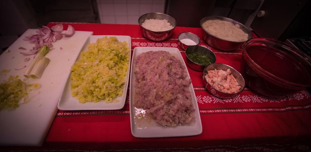 Así se elabora la mejor morcilla de verdura de Euskadi