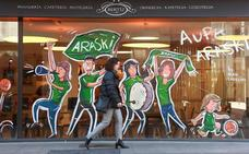 El Araski reverdece el comercio de Vitoria