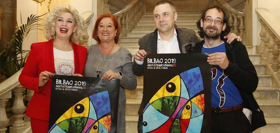 Farolín y Zarambolas se preparan para «liarla en los carnavales» de Bilbao