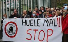 Retoman las protestas contra la polémica sebería de Ortuella
