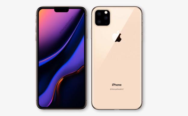 1c2ad646338 ... todo lo que sabemos sobre el nuevo smartphone de Apple. Concepto del ' iPhone XI'/. Concepto del 'iPhone ...
